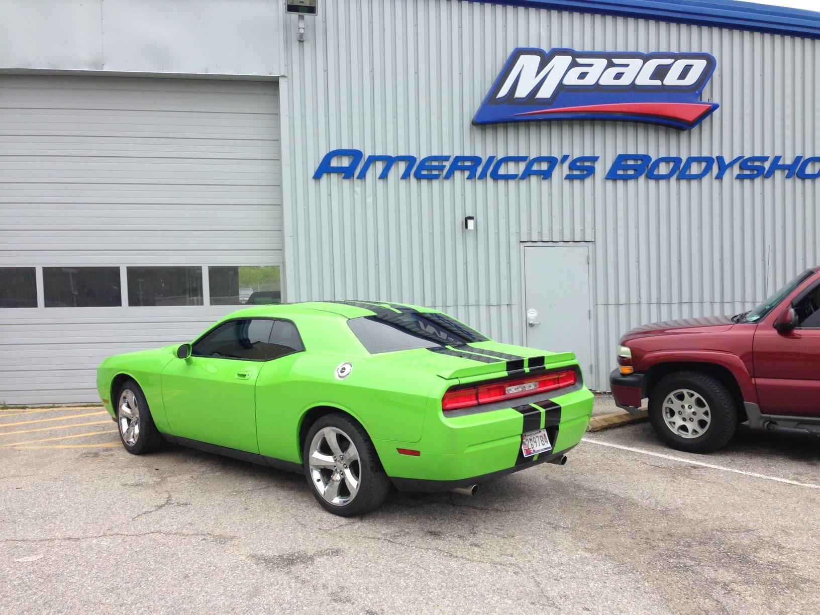Maaco collision repair auto painting upper marlboro for Maaco paint reviews