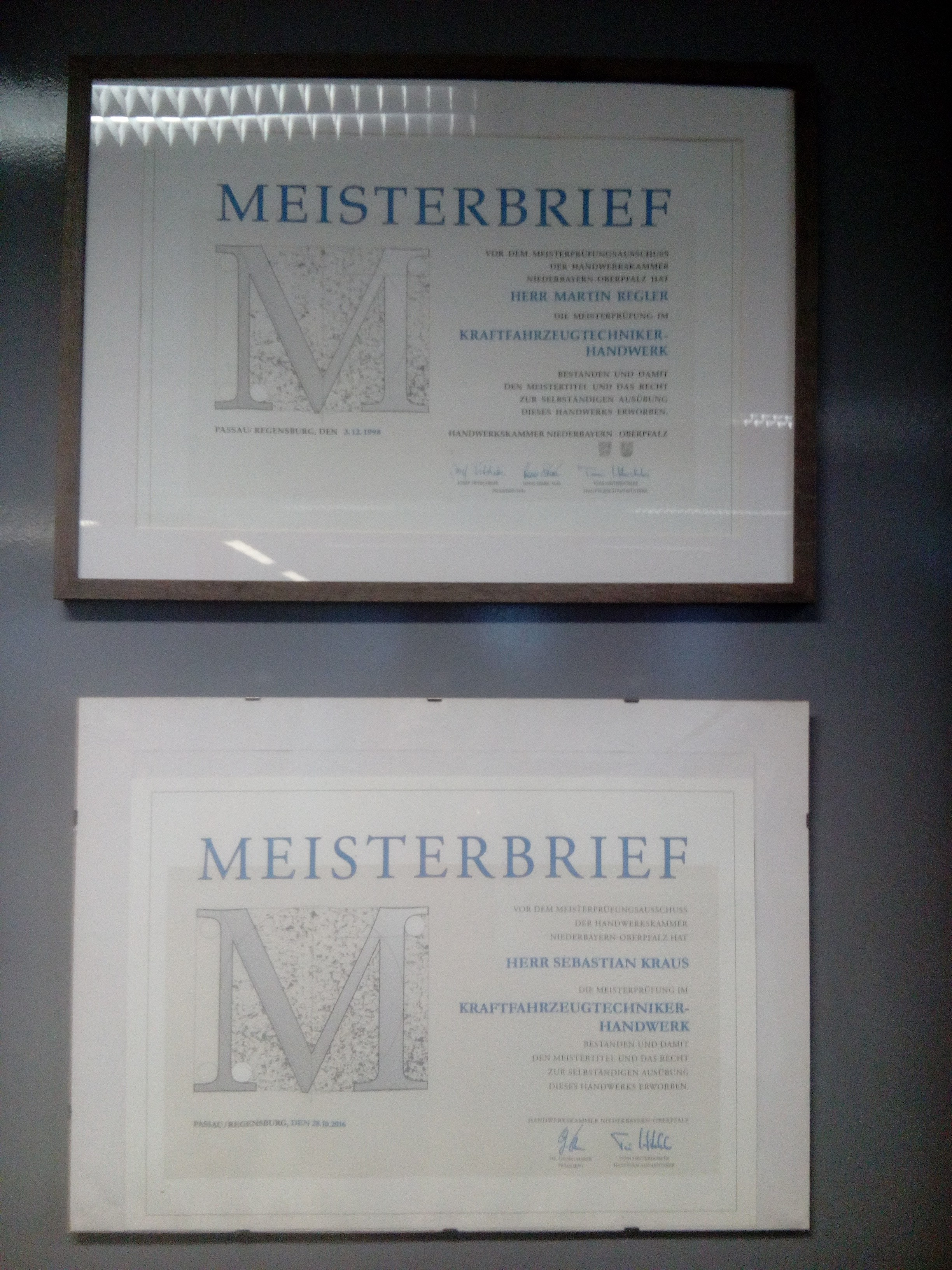 Kfz-Meisterwerkstatt Martin Regler GmbH