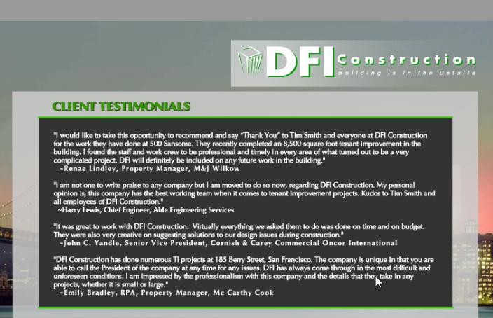 DFI Construction