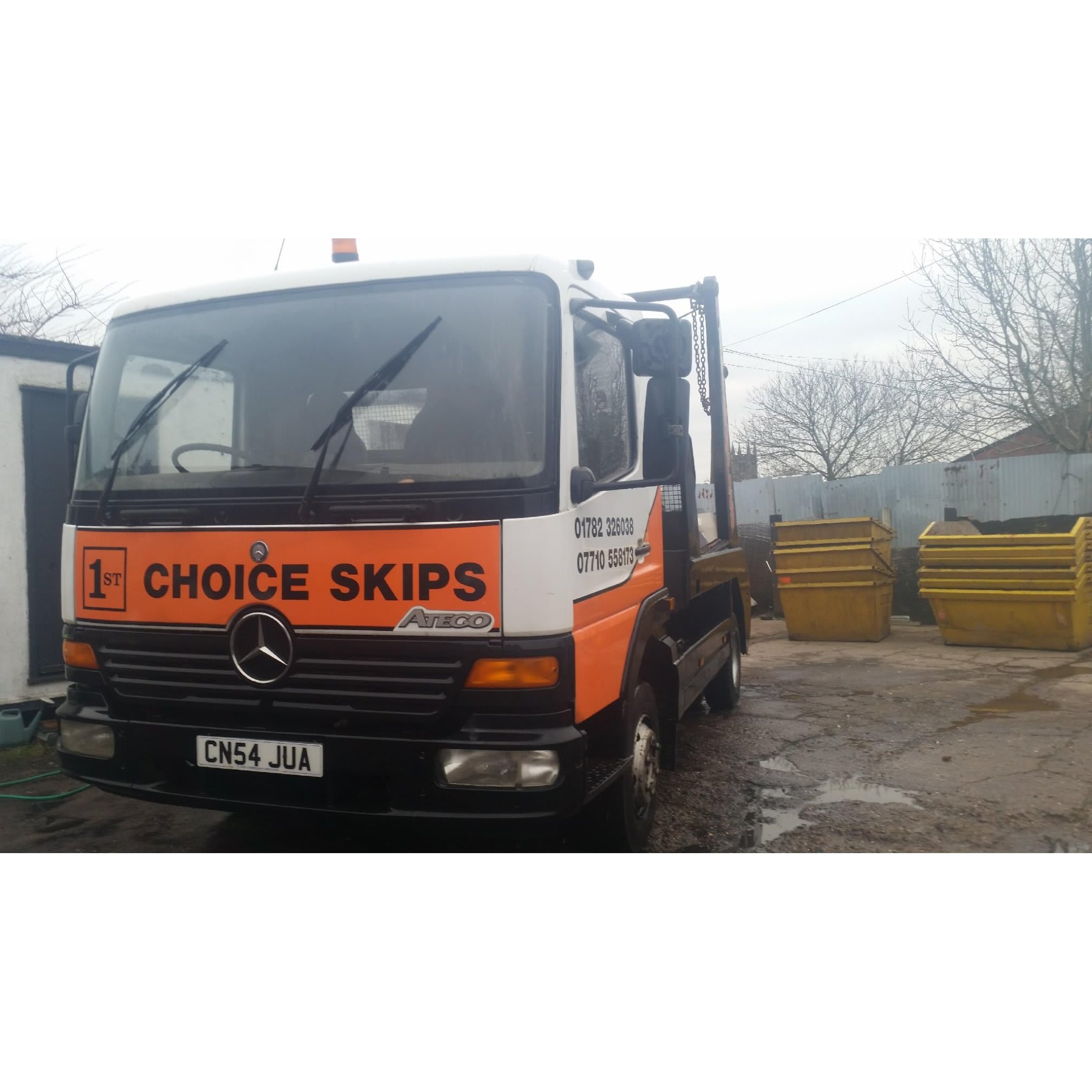 1st Choice Skips - Stoke-On-Trent, Staffordshire ST3 1HZ - 01782 326038   ShowMeLocal.com