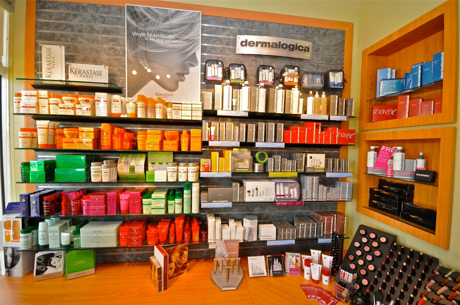HairVenture Salon and Spa - Weston, FL - We stock Kerastase, Dermalogica, Alterna, OPi, Goldwell, Alfaparf and Moroccan Oil