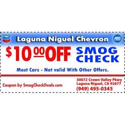 Laguna Niguel Chevron - Laguna Niguel, CA - Emissions Testing
