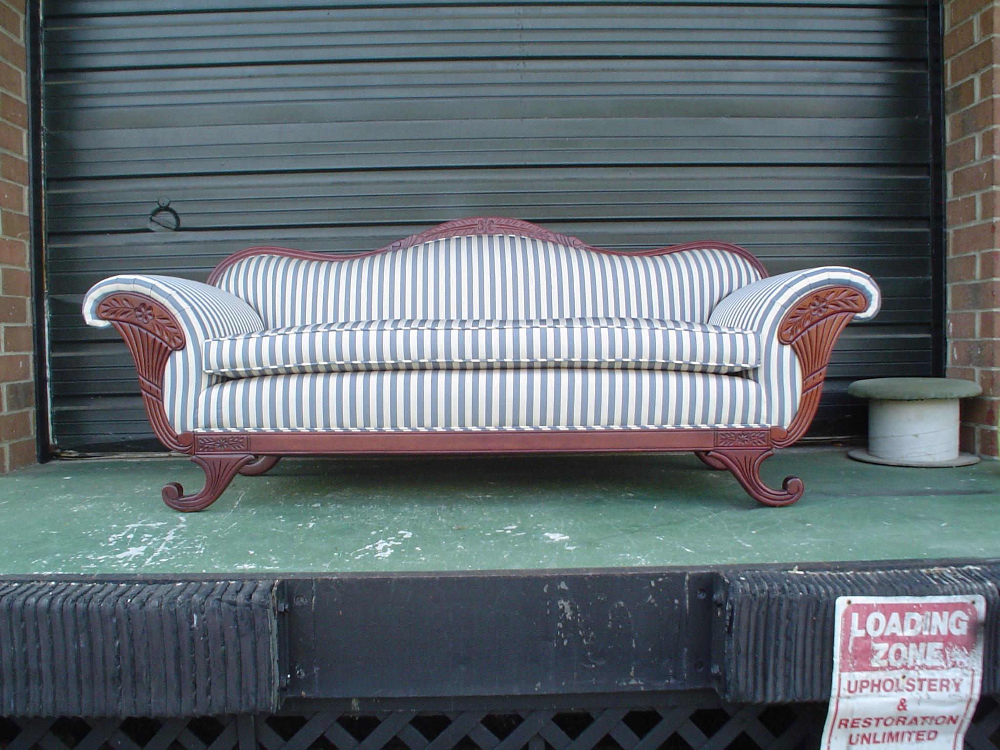 Upholstery Restoration & Select Fabrics - ad image