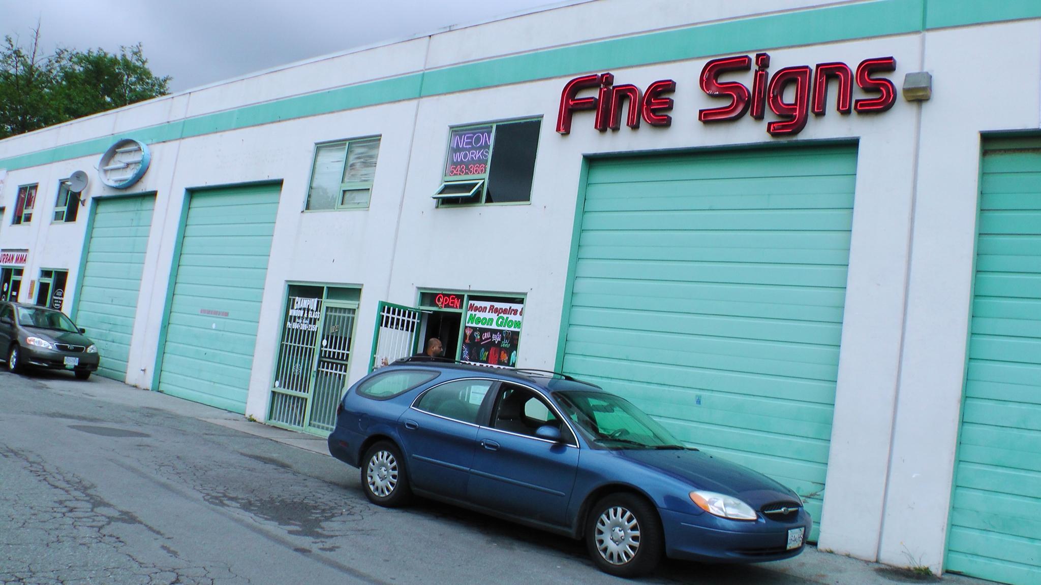 Fine Signs Ltd in Surrey