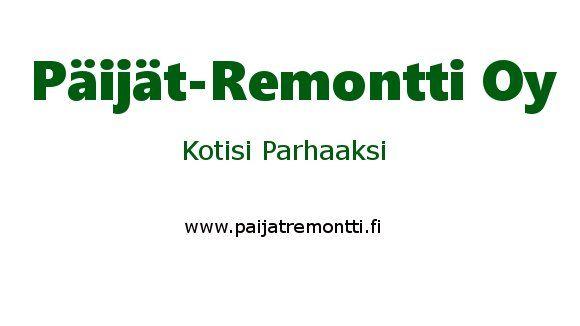 Päijät-Remontti Oy