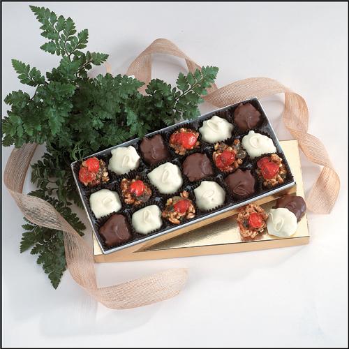 Little Puds and Thingamajigs - Sample three luscious tastes - milk chocolate, dark chocolate and white chocolate.