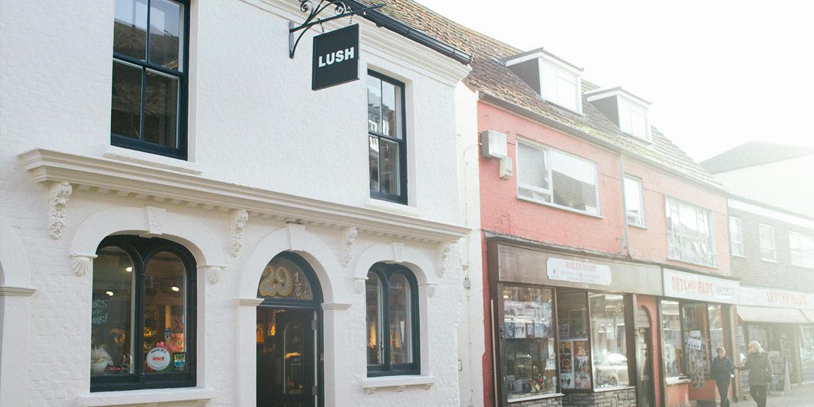 Poole shop front