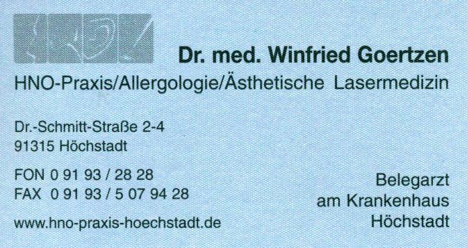 HNO Praxis Dr. Goertzen