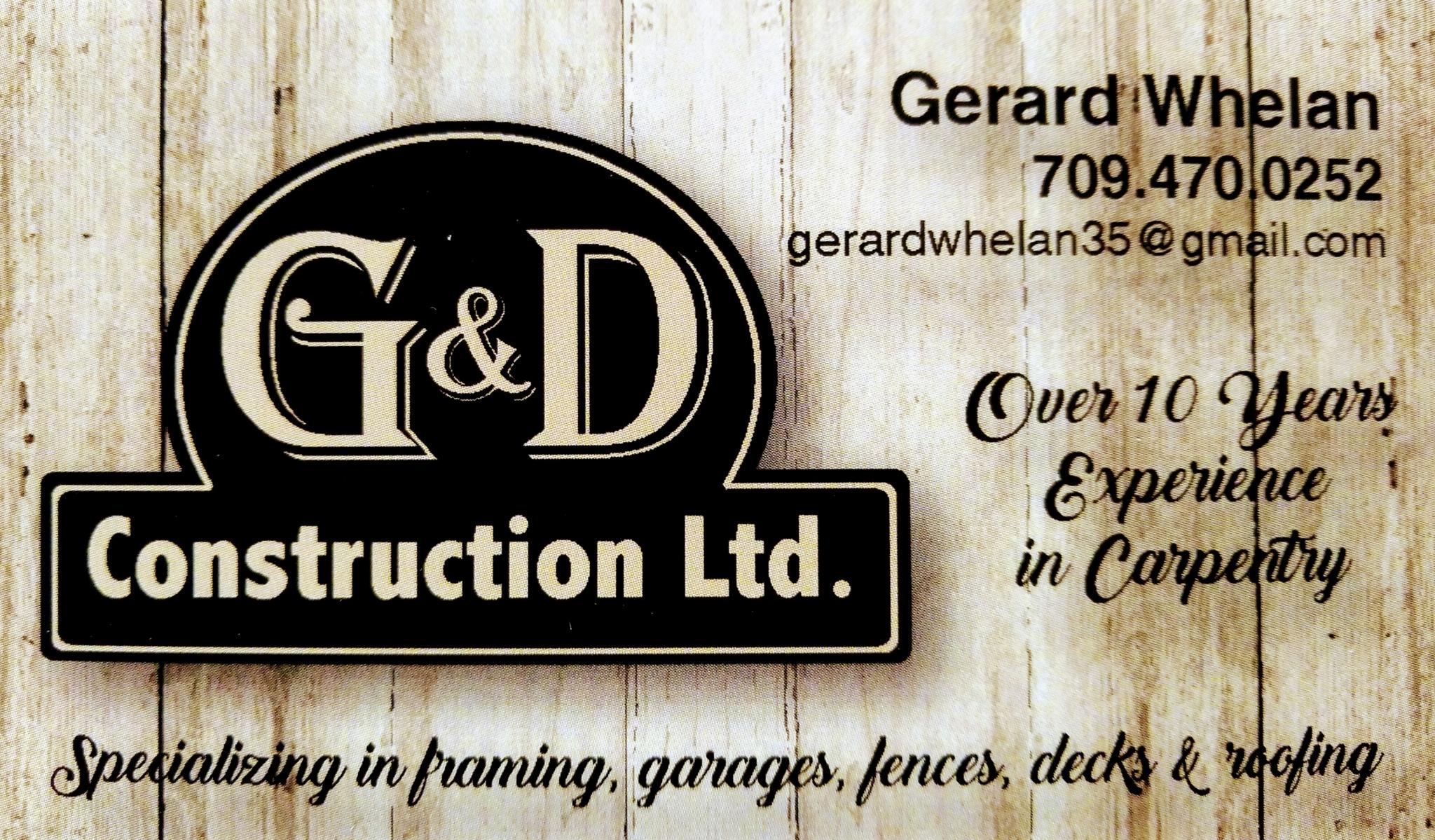 G&D Construction