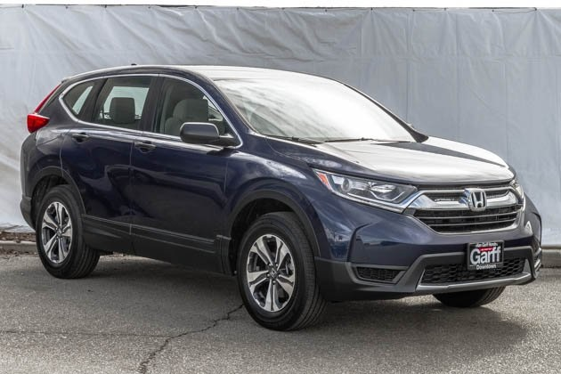 New 2018 Honda CR-V LX exterior