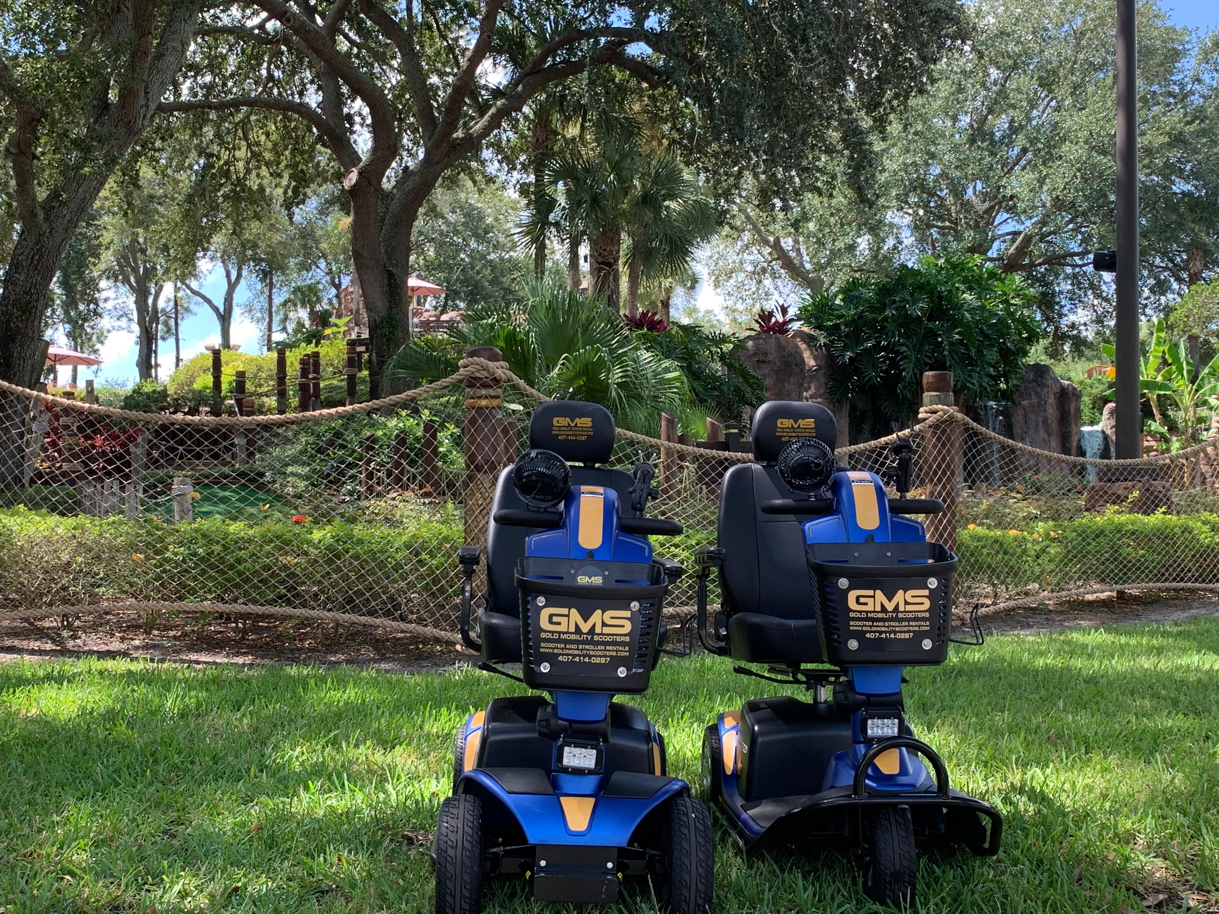 Approved scooter rentals for Orlando Florida and the theme parks by Gold Mobility Scooters. We sell and rent top of the line Pride Mobility Scooters in our rent a scooter line. Theme Parks and Orlando Florida Area scooter rentals. Best rental Prices, Premium brand new scooters for rent, Free Delivery and Pickup, Free Damage Waver, Free Accessories, and Custom upgrades. 5 star rated scooter rental company. Scooter Rental info at https://goldmobilityscooters.com or Call us at 407-414-0287