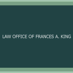 Law Office of Frances a. King