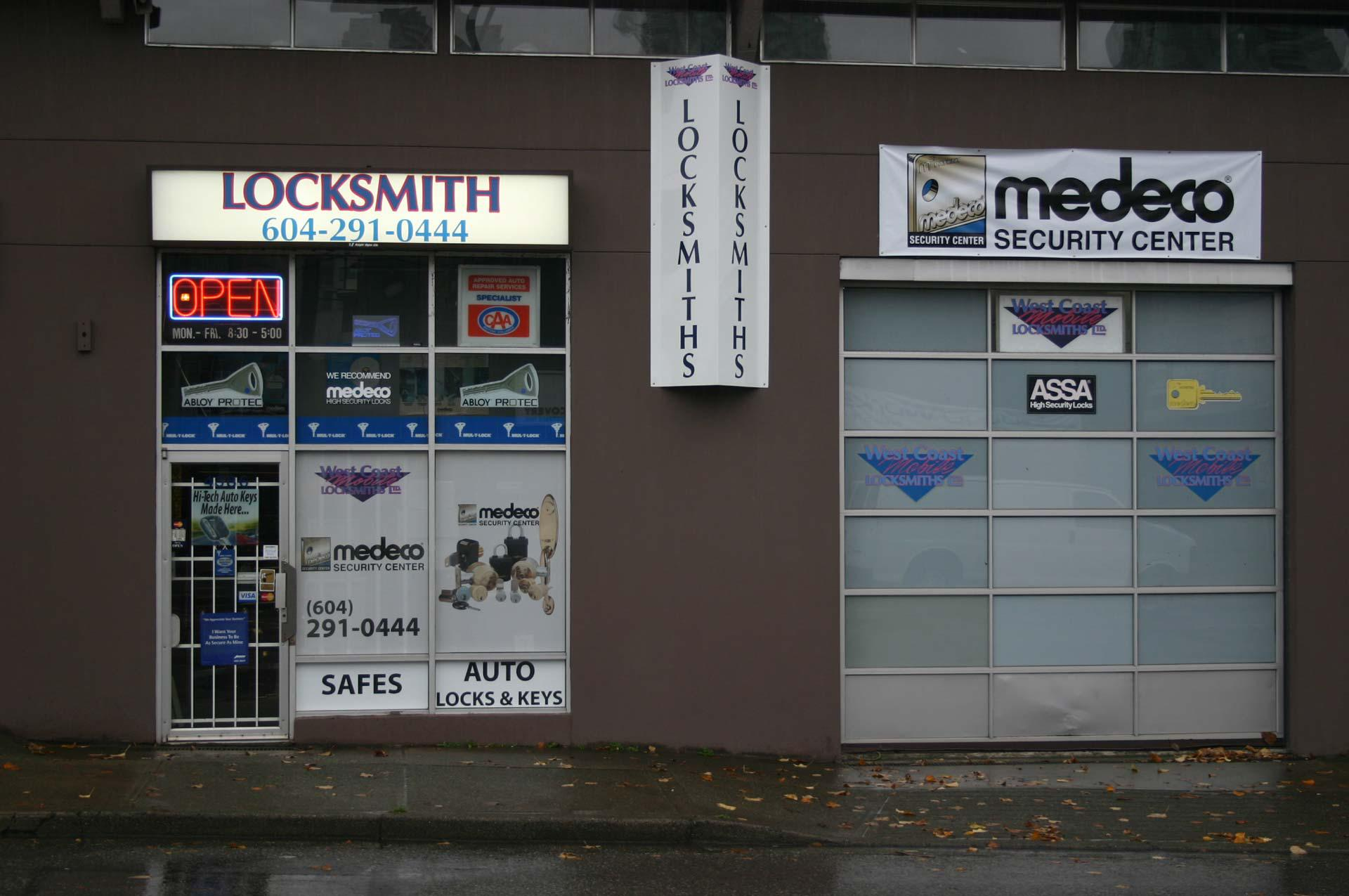 West Coast Mobile Locksmiths in Burnaby: We sell and service safes for all your valuables.