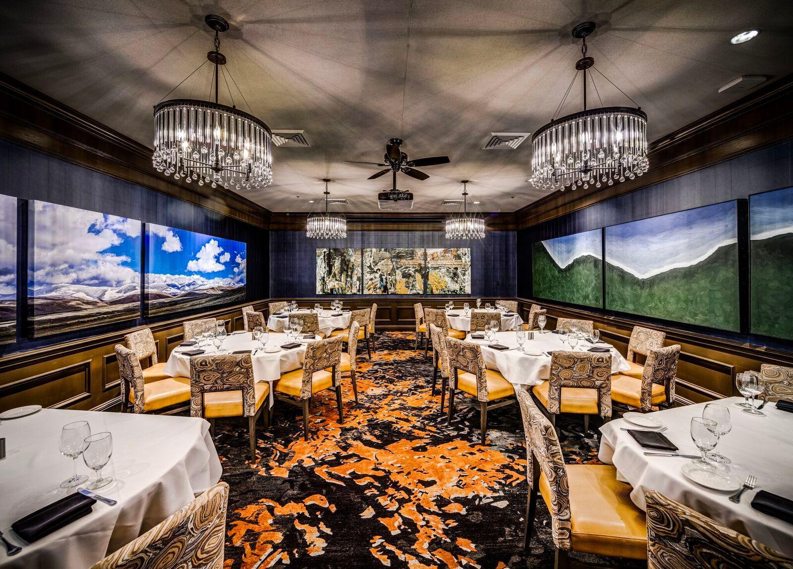Del Frisco's Double Eagle Steakhouse Denver Colorado Room private dining room