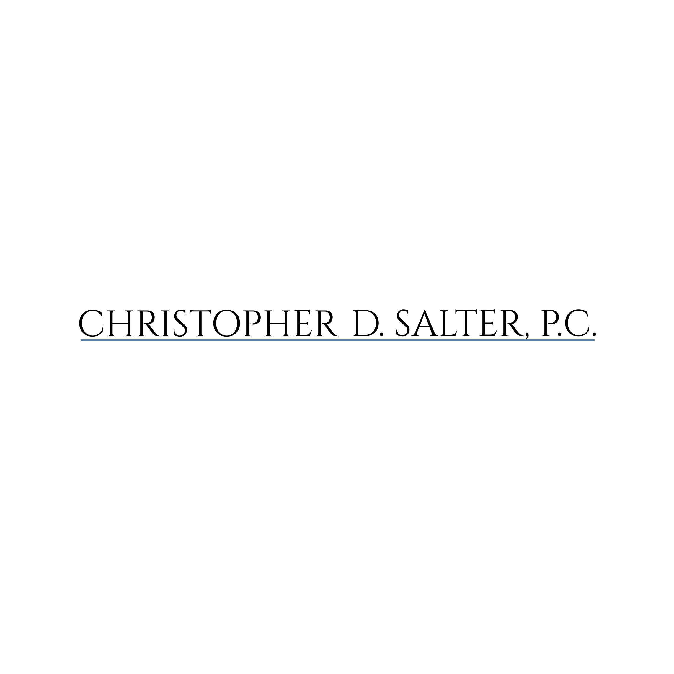 Christopher D. Salter, P.C