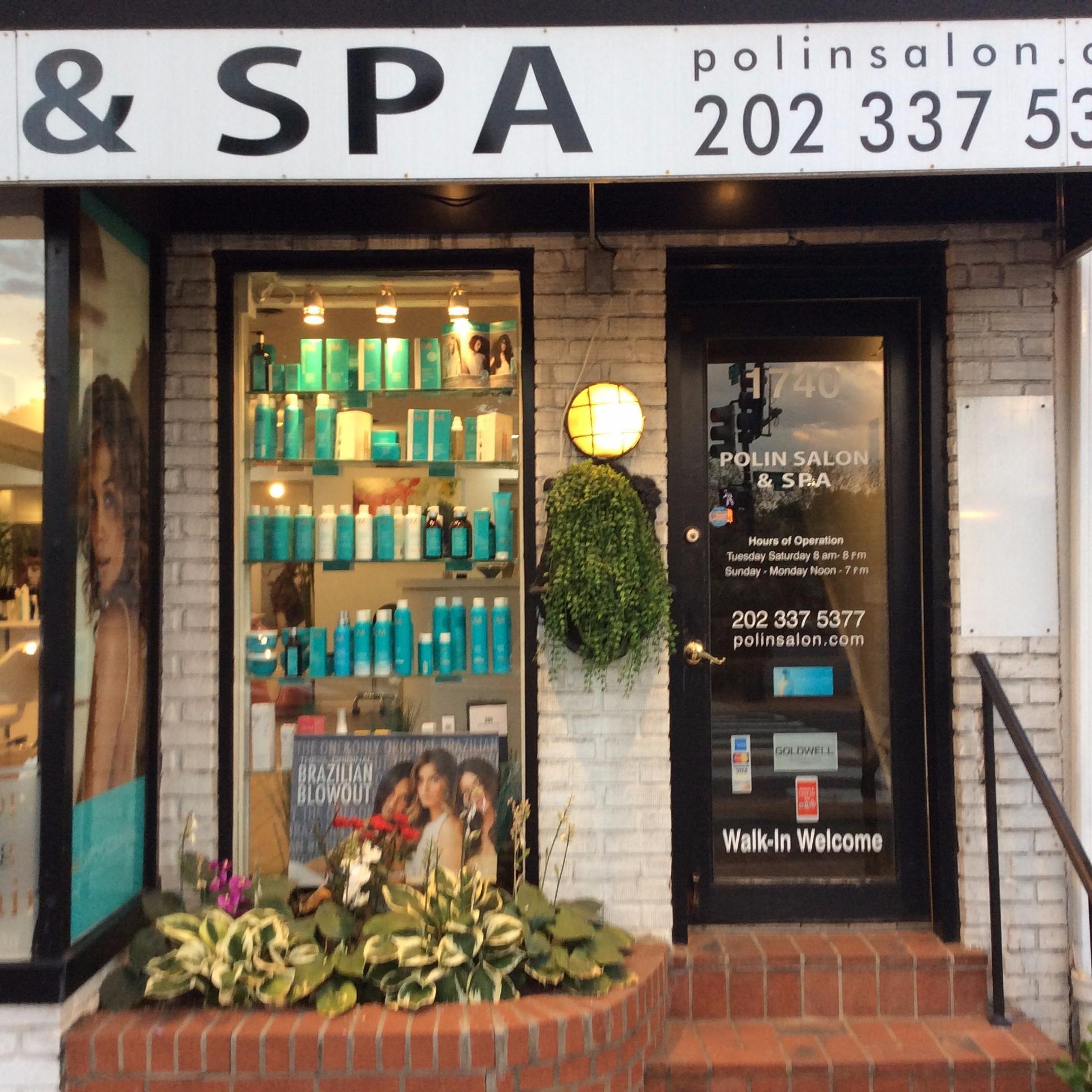 Polin salon spa washington dc dc for Salon spa 2