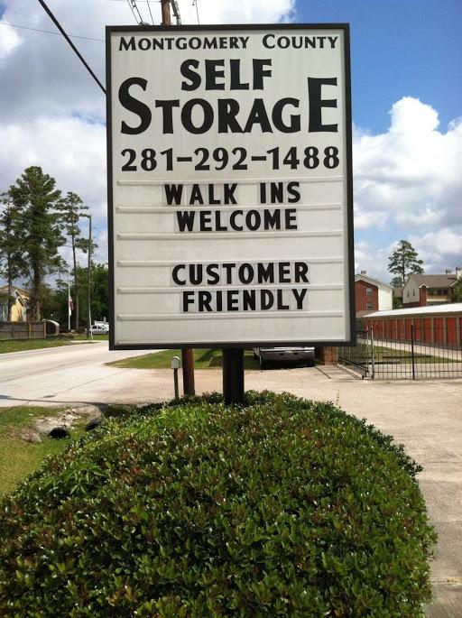 Montgomery County Self Storage Spring Texas Tx