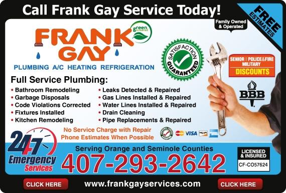Frank Services Orlando Fl