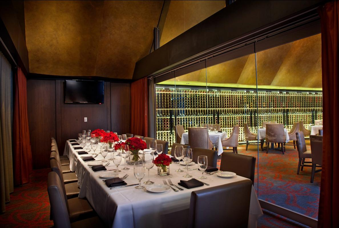 Del Frisco's Double Eagle Steakhouse Chicago Eagle 2 Room private dining room