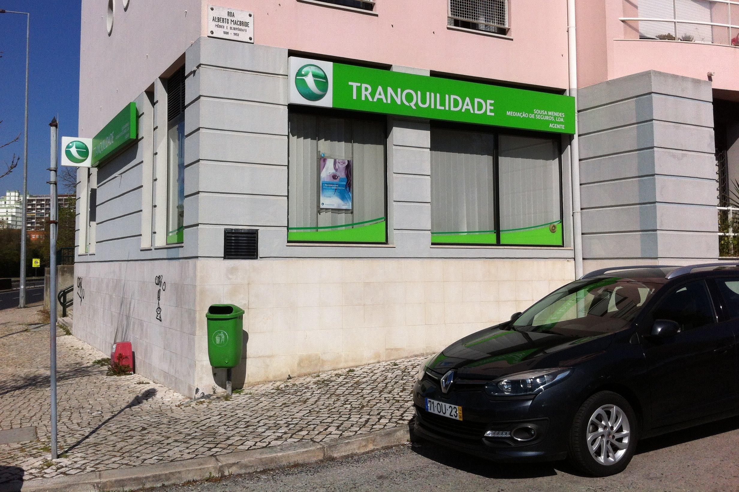 TRANQUILIDADE: Agente Sousa Mendes Mediação Seguros Lda.