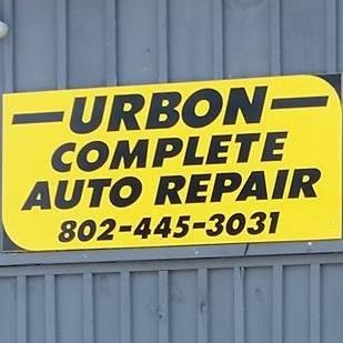 Urbon Complete Car Care - Shaftsbury, VT - General Auto Repair & Service
