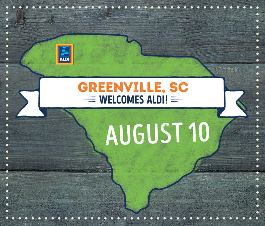 Grocery Store in SC Greenville 29611 ALDI 6149 White Horse Rd  (855)955-2534