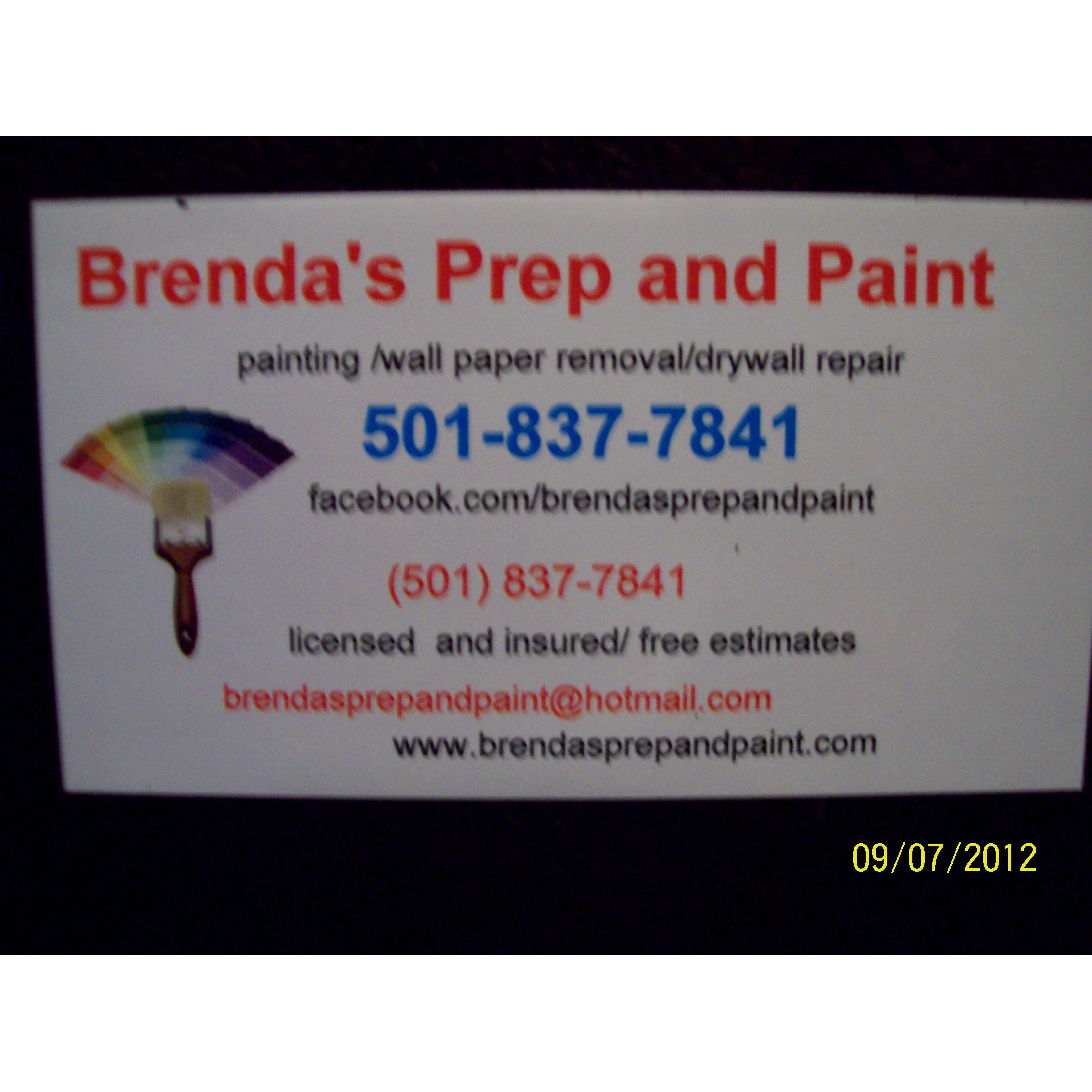 Brenda's Prep and Paint