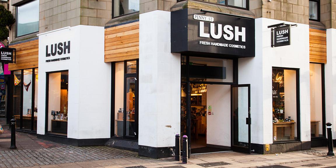 Lancaster shop front