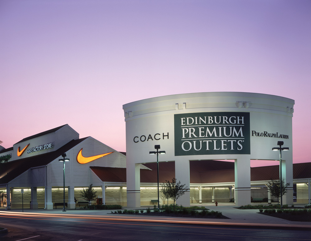Find all of the stores, dining and entertainment options located at Edinburgh Premium Outlets®.