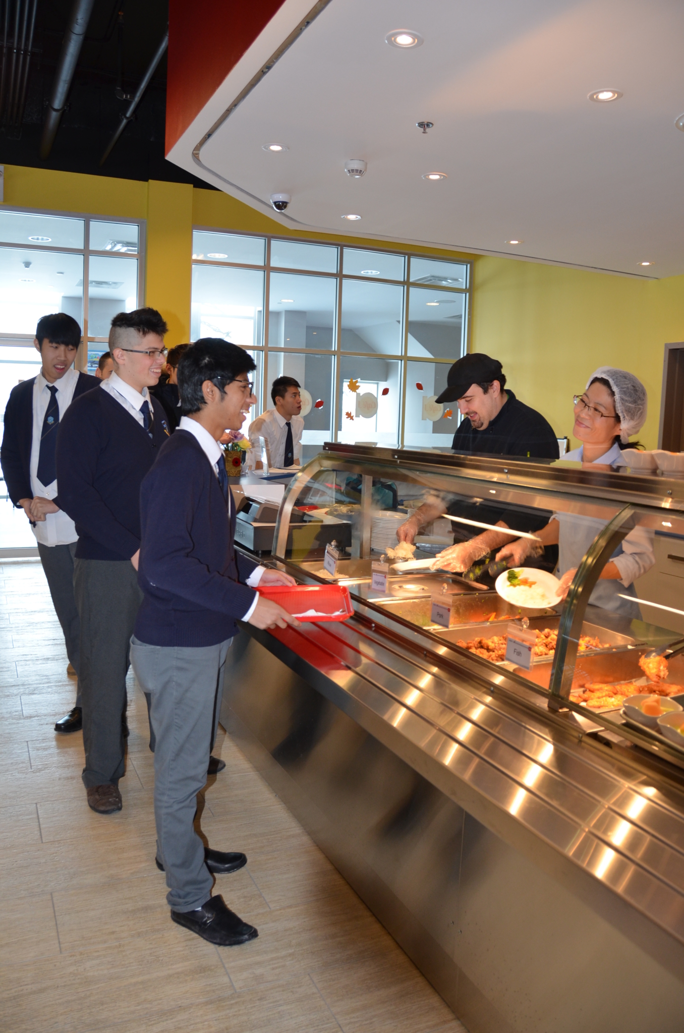 J Addison School in Markham: J. Addison's Cafe J serves up delicious and nutritious meals 3 times a day, 7 days a week.