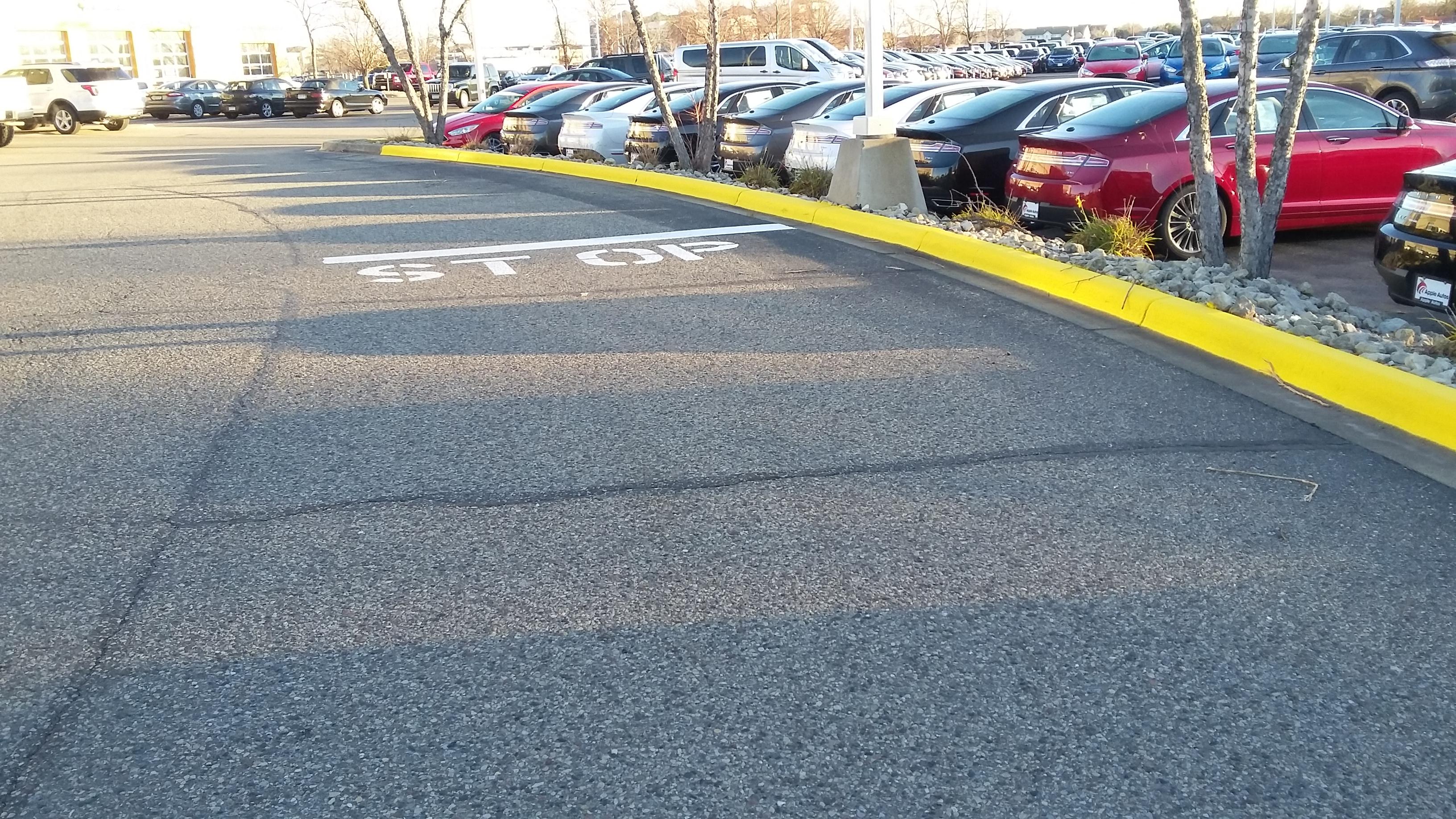 Lot Stripes Parking Lot Services Savage Minnesota Mn