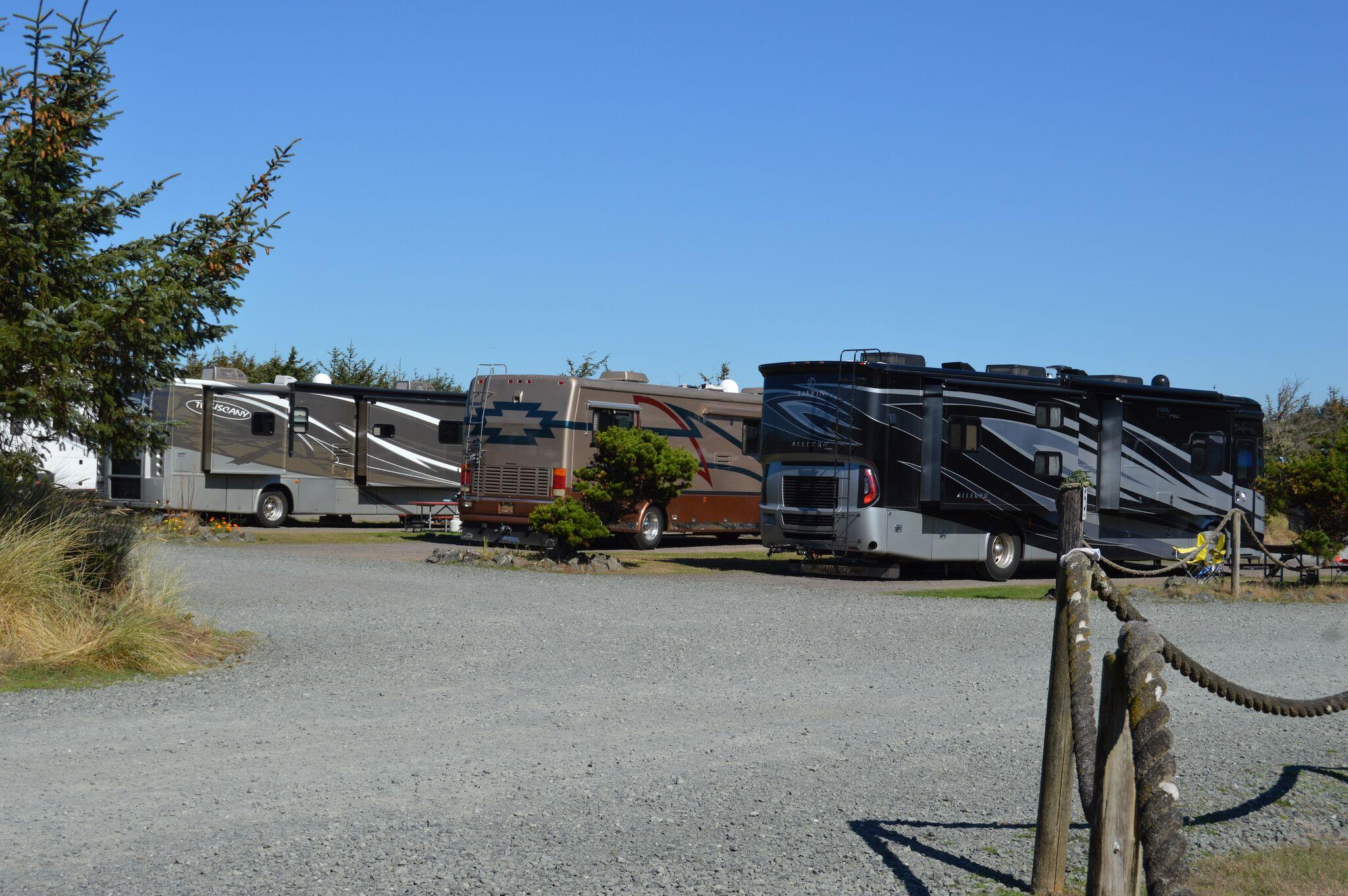 Oceanside Beachfront Rv Resort In Coos Bay Or 97420