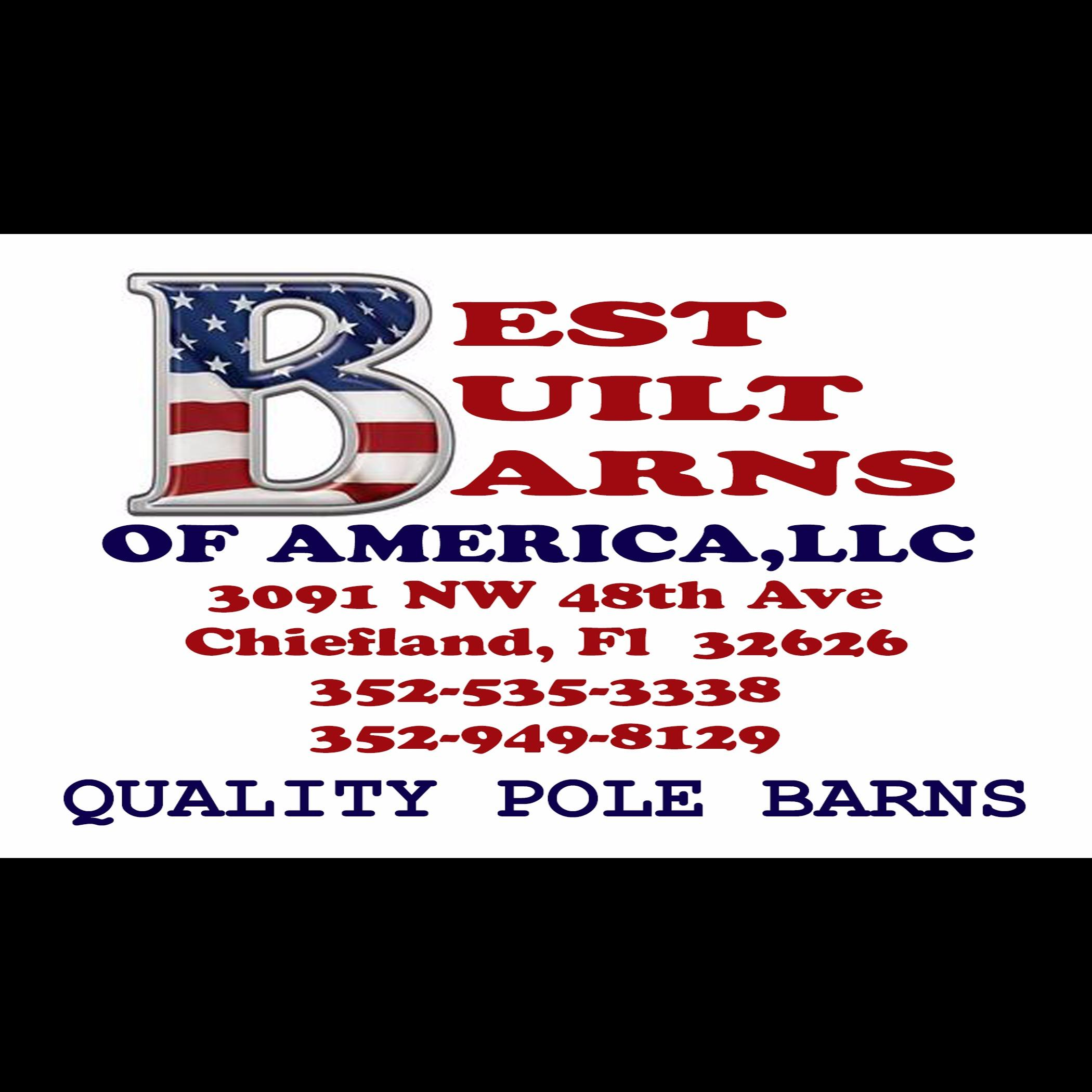 Best built barns of america in chiefland fl furniture for Furniture of america address