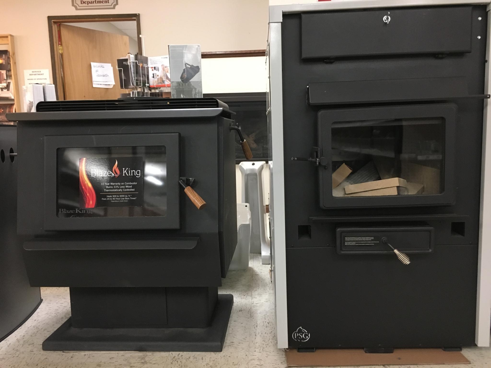 Burgess Plumbing Heating & Electrical Co Ltd in Williams Lake: wood stove & pellet stoves
