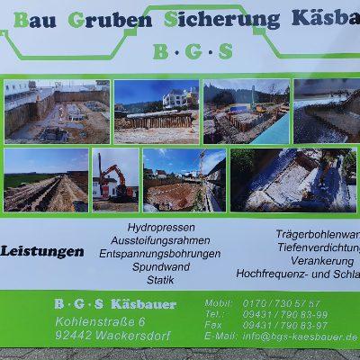Bild zu BGS Käsbauer Spezialtiefbau in Wackersdorf