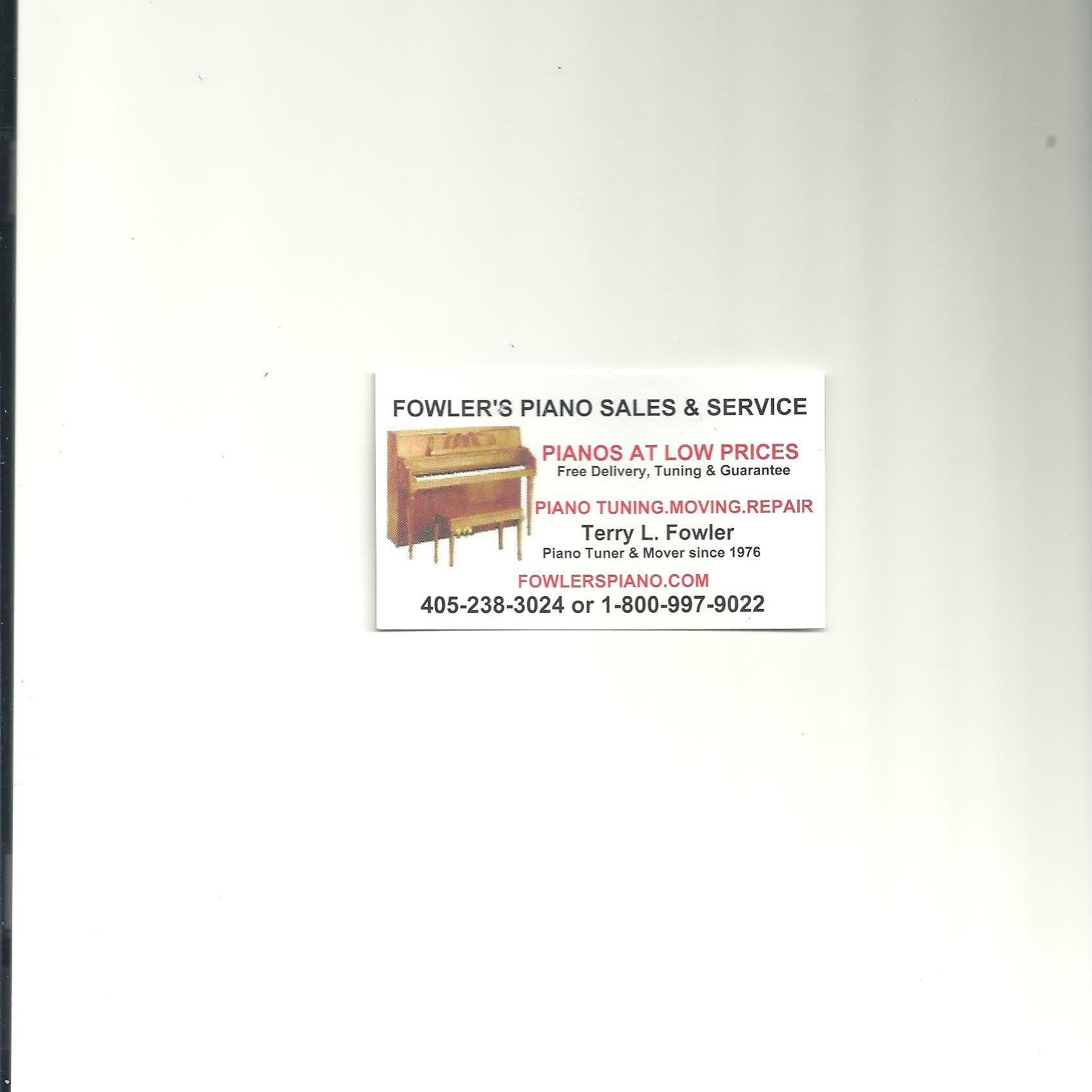 Fowler's Piano Sales and Service