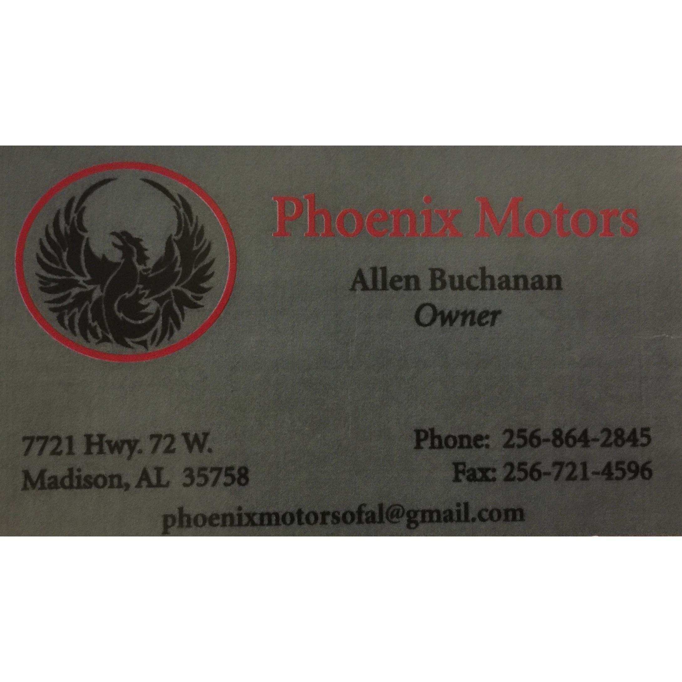 Phoenix Motors, LLC - Madison, AL - General Auto Repair & Service