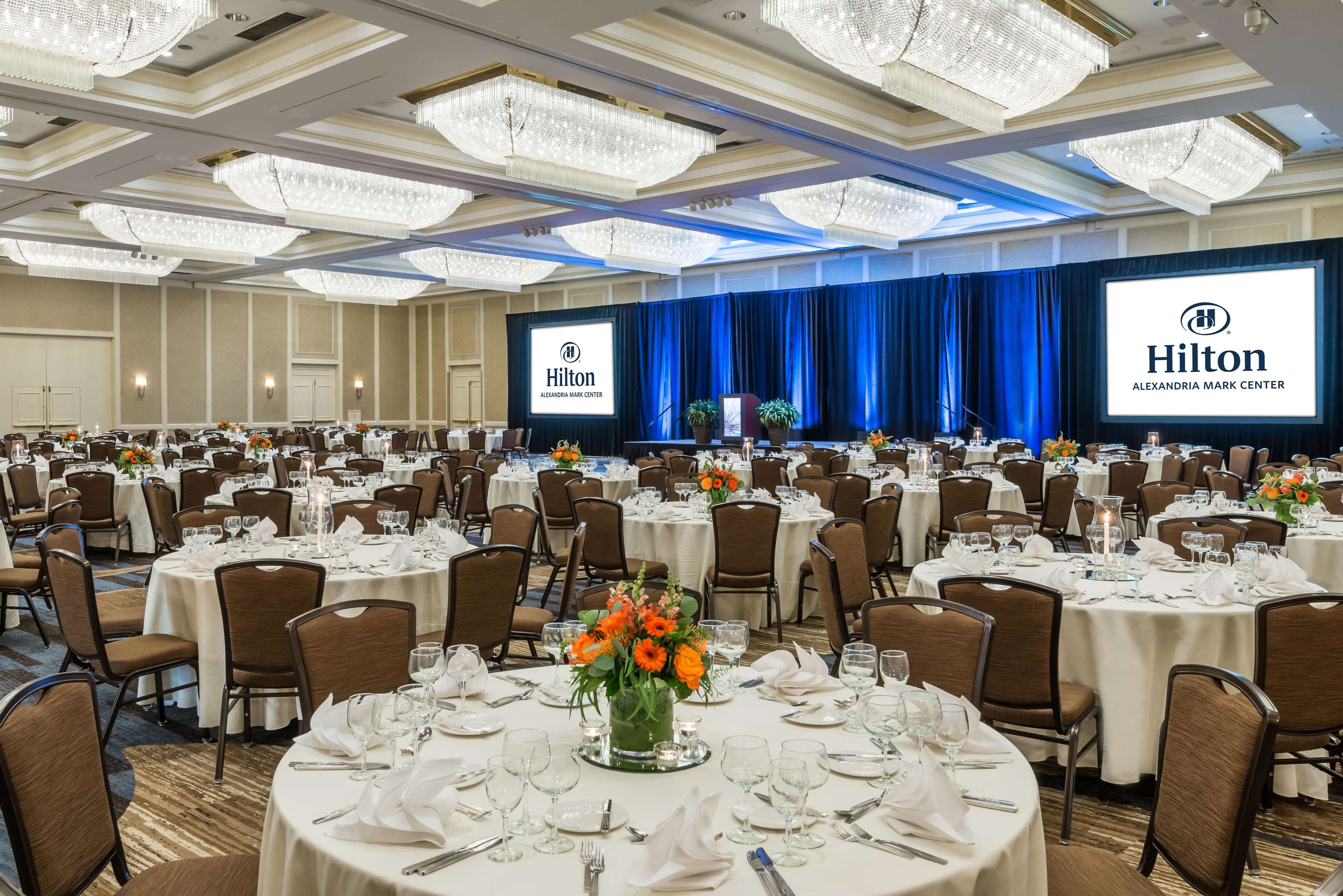 Hilton Mark Center Meeting Rooms