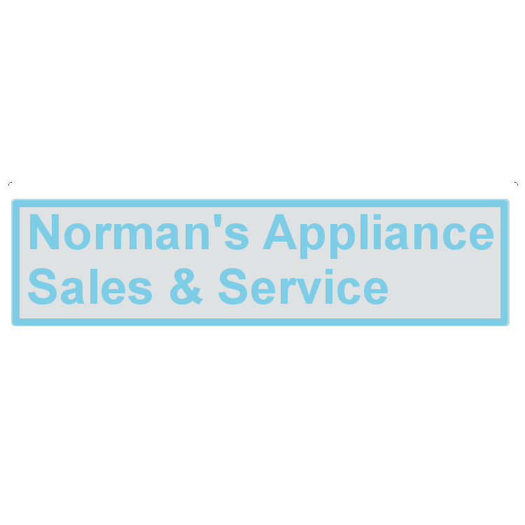 Norman's Appliance Sales  and  Service