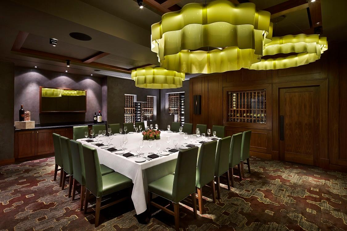 Del Frisco's Double Eagle Steakhouse Washington National Room private dining room