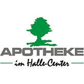 Logo der Apotheke im Halle-Center