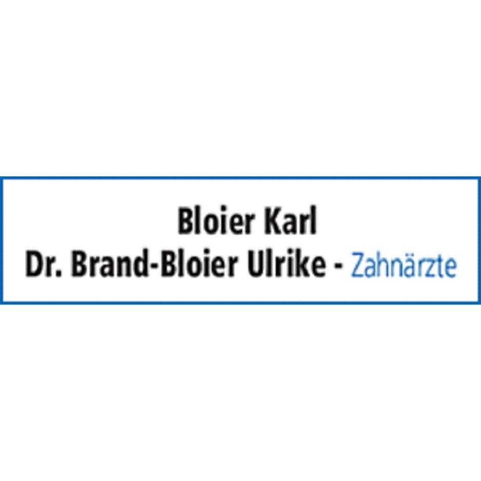 Karl Bloier ZA & Dr. med. dent. Ulrike Brand-Bloier Salzburger Str 13 4840 Vöcklabruck  Logo