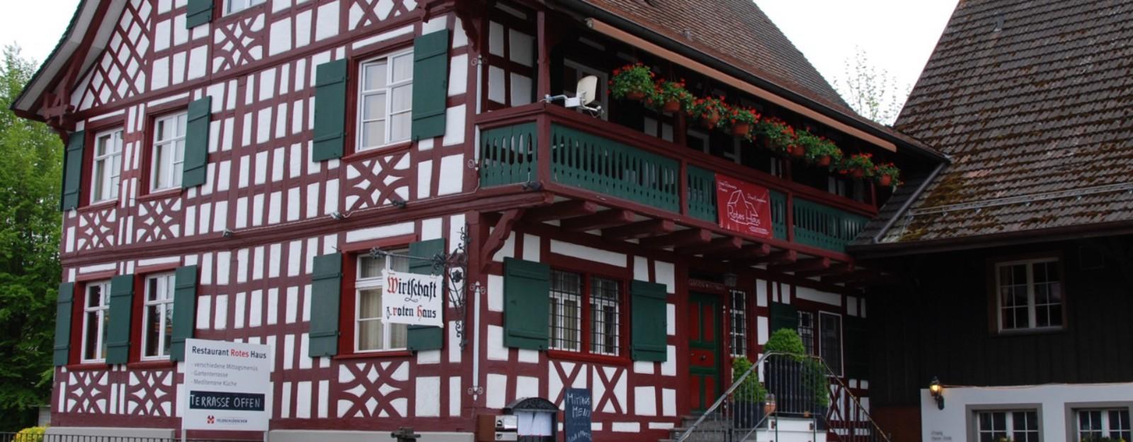 Rotes Haus Restaurants Landschlacht Schweiz TEL