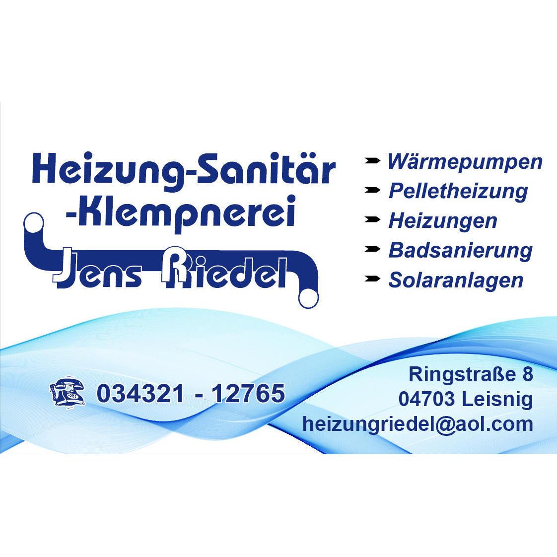 Heizung - Sanitär - Klempnerei Jens Riedel