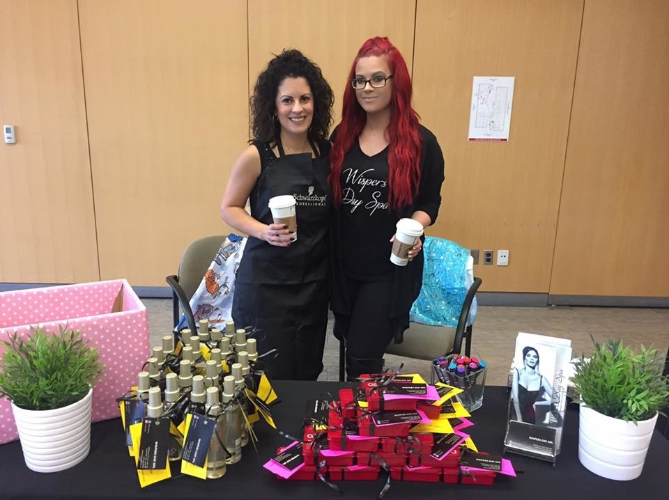 Wispers Hair & Day Spa in Cambridge: Charity Event