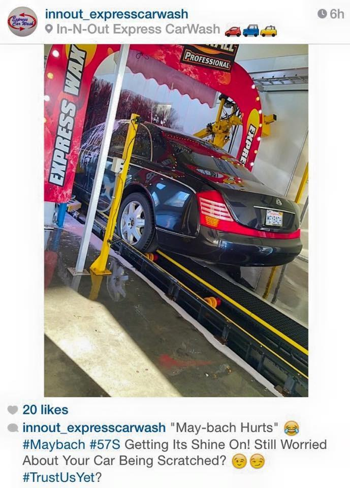 In N Out Express Car Wash Inc North Hollywood California