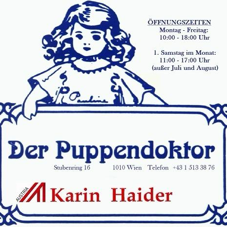 Der Puppendoktor Karin Haider