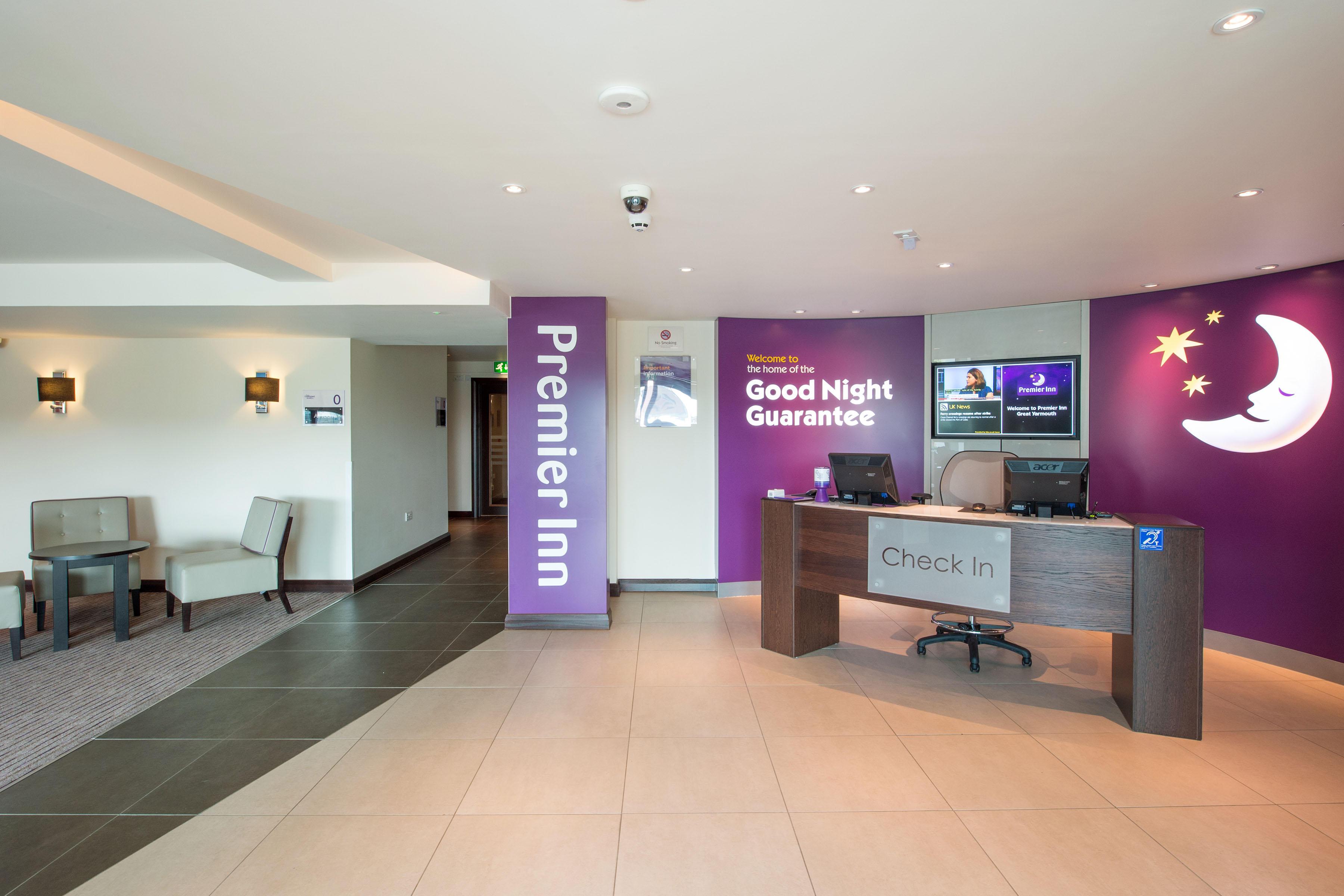 Premier Inn Great Yarmouth West (A47) hotel