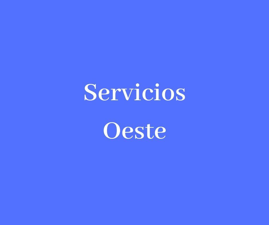 SERVICIOS OESTE