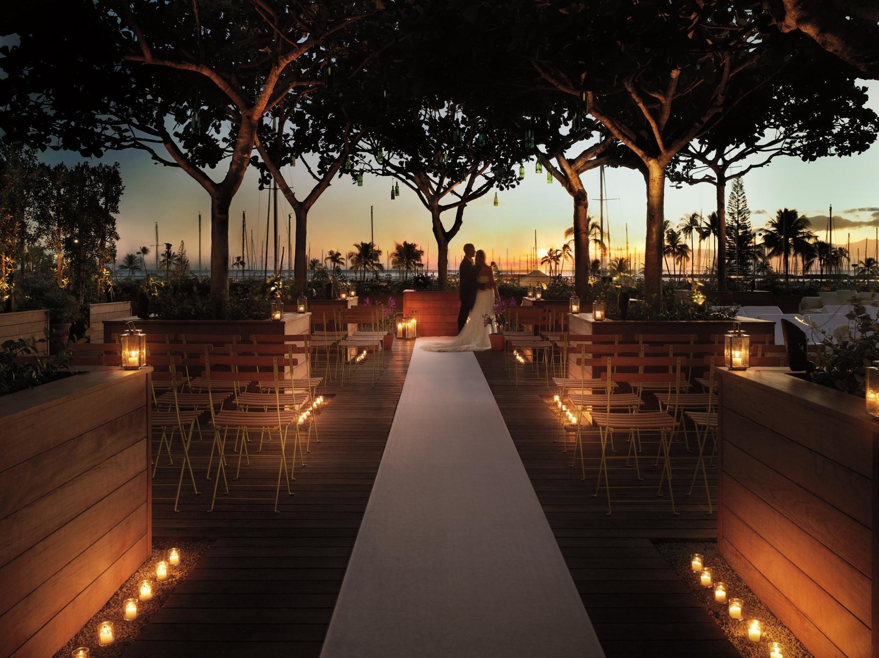 The modern honolulu in honolulu hi 808 450 3379 for Local venues for weddings